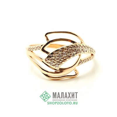 Кольцо из золота 2,31 гр., 18 размер