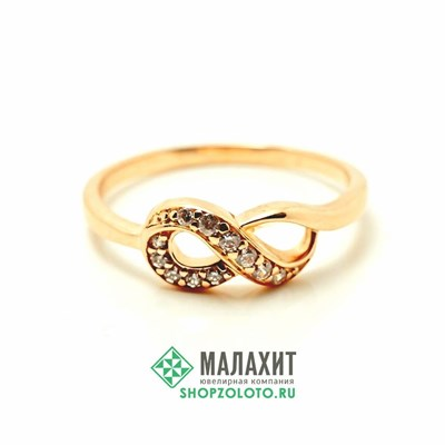 Кольцо из золота 2,2 гр., 18,5 размер