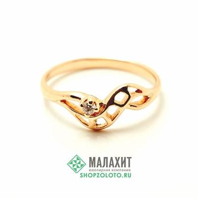 Кольцо из золота 1,6 гр., 17 размер