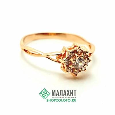 Кольцо из золота 1,75 гр., 18 размер