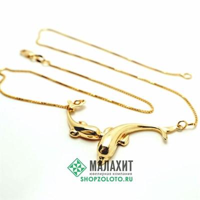Колье из золота 5,47 гр., 40 размер