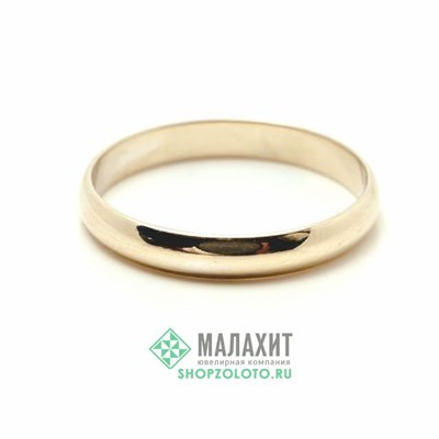 Кольцо из золота 1,93 гр., 18 размер