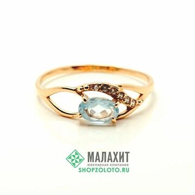 Кольцо из золота 1,16 гр., 17,5 размер