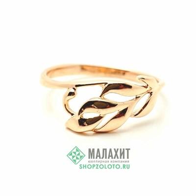 Кольцо из золота 1,66 гр., 17 размер