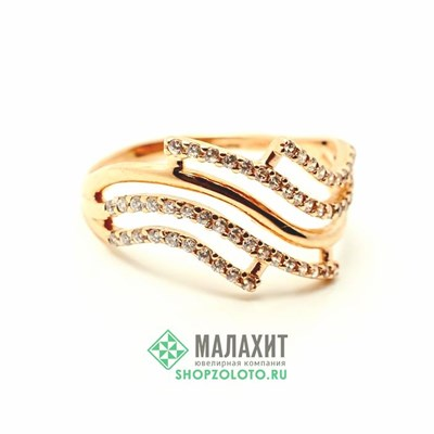 Кольцо из золота 1,75 гр., 17 размер