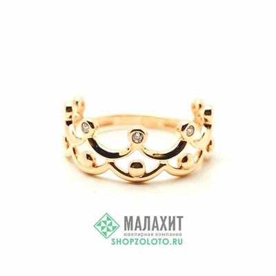 Кольцо из золота 1,23 гр., 14 размер