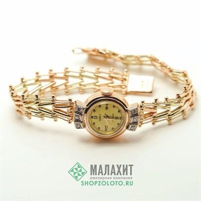 Часы из золота 22,89 гр. с бриллиантами